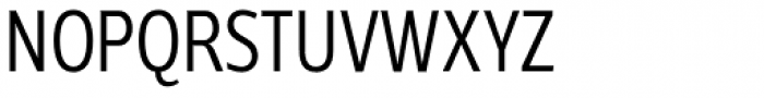 Velino Sans Condensed Light Font UPPERCASE