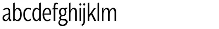 Velino Sans Condensed Light Font LOWERCASE