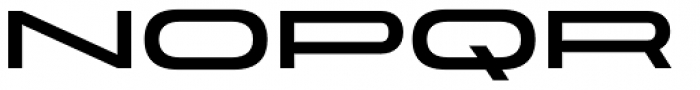 Velodroma Basic Super Wide Font LOWERCASE