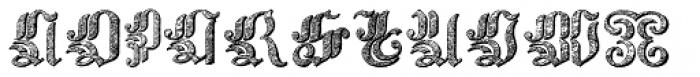 Velvet Gothic Font UPPERCASE