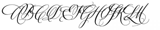 Velvet Hammer Font UPPERCASE