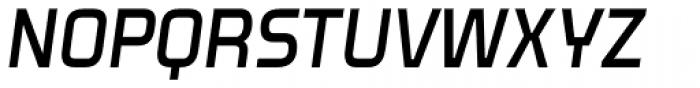 Venacti SemiBold Italic Font UPPERCASE