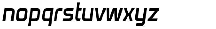 Venacti SemiBold Italic Font LOWERCASE