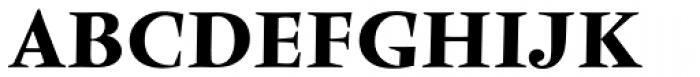 Vendome Medium Font UPPERCASE