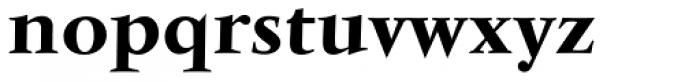 Vendome Medium Font LOWERCASE