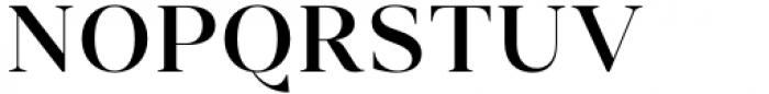 Vendura Medium Font UPPERCASE
