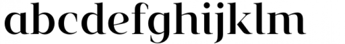 Vendura Medium Font LOWERCASE