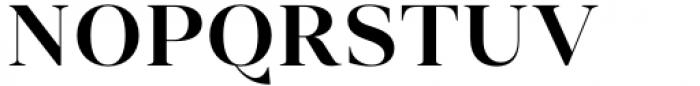 Vendura Semi Bold Font UPPERCASE