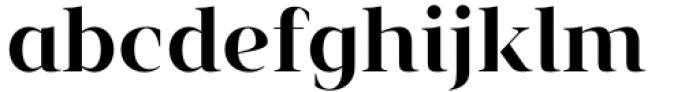 Vendura Semi Bold Font LOWERCASE