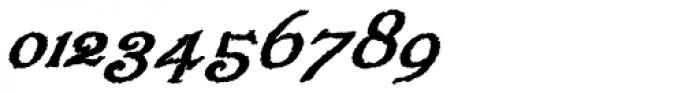 Veneribe Oblique Font OTHER CHARS