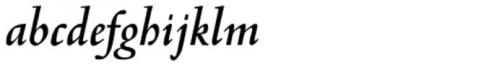 Venetian 301 Bold Italic Font LOWERCASE