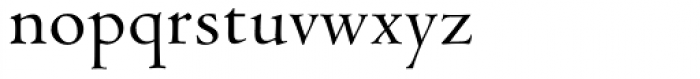 Venetian 301 Demi Font LOWERCASE
