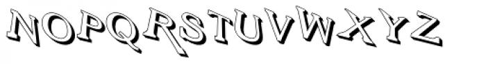 Vengeance Return Font UPPERCASE