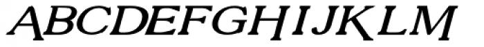 Vengeance Versalete Italic Font UPPERCASE