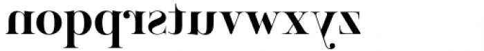 Venice Revolution Demi Bold Font LOWERCASE