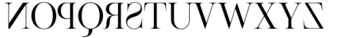 Venice Revolution Thin Font UPPERCASE