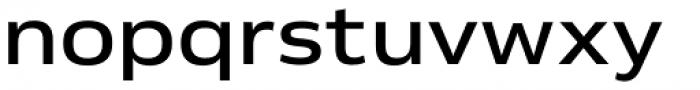 Venn Semi Extended Medium Font LOWERCASE
