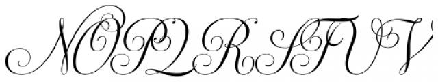 Ventura Font UPPERCASE