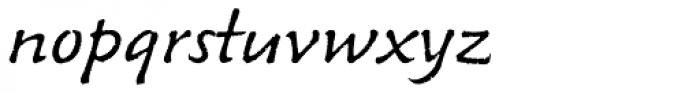 Venture Pro Script Font LOWERCASE