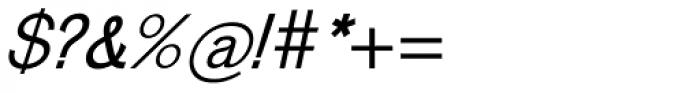 Venus Com Italic Font OTHER CHARS