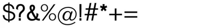 Venus Com Regular Font OTHER CHARS