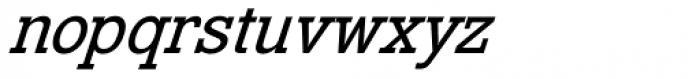 Venus Egyptienne Pro Kursiv Halbfett Font LOWERCASE