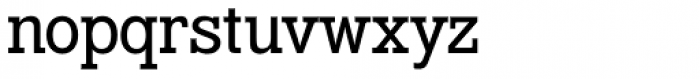 Venus Egyptienne Std Halbfett Font LOWERCASE