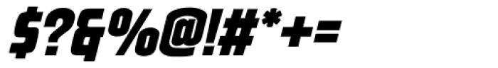 Venus Envy Sfactor Black Italic Font OTHER CHARS