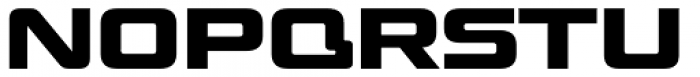 Venus Rising Bold Font UPPERCASE