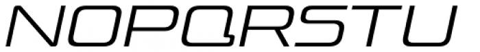 Venus Rising ExtraLight Italic Font UPPERCASE