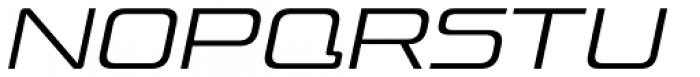 Venus Rising ExtraLight Italic Font LOWERCASE