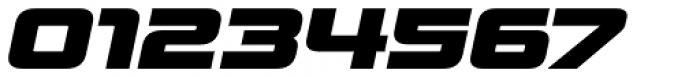 Venus Rising Heavy Italic Font OTHER CHARS