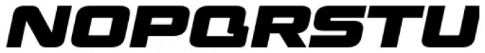 Venus Rising Heavy Italic Font UPPERCASE