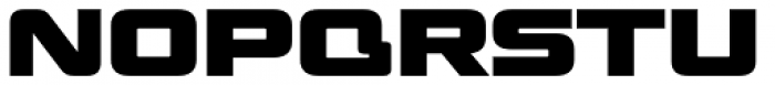 Venus Rising Heavy Font UPPERCASE