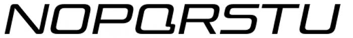 Venus Rising Light Italic Font UPPERCASE