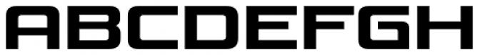 Venus Rising SemiBold Font UPPERCASE