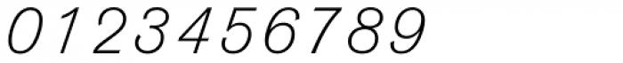 Venus URW Light Italic Font OTHER CHARS