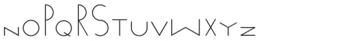 Venzel Semilight Font UPPERCASE