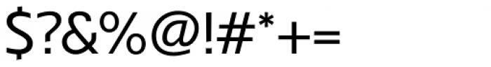 Veotec Regular Font OTHER CHARS