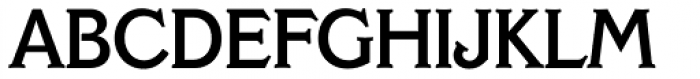 Veracruz Serial Medium Font UPPERCASE