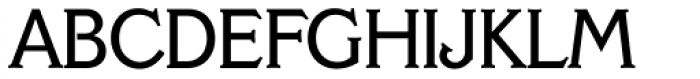 Veracruz Serial Font UPPERCASE