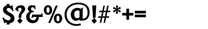 Veracruz TS DemiBold Font OTHER CHARS