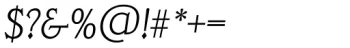 Veracruz TS ExtraLight Italic Font OTHER CHARS
