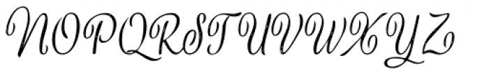 Verao Print Font UPPERCASE