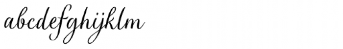Verao Regular Font LOWERCASE