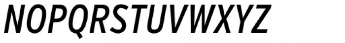 Verb Compressed Medium Italic Font UPPERCASE