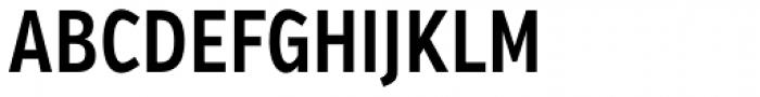 Verb Compressed SemiBold Font UPPERCASE