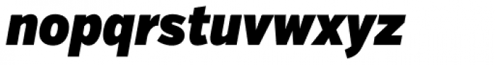 Verb ExtraCond Ultra Italic Font LOWERCASE