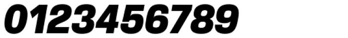 Verbatim Narrow Black Oblique Font OTHER CHARS