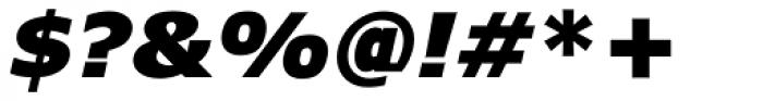 Verdana Pro Black Italic Font OTHER CHARS